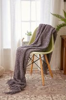 Urban Outfitters Loopy Knit Throw Blanket