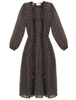 Zimmermann Havoc polka-dot silk-blend dress