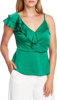 Vince Camuto Asymmetrical Ruffle One-Shoulder Top