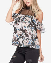 GUESS Shelbi Cold-Shoulder Illusion Top