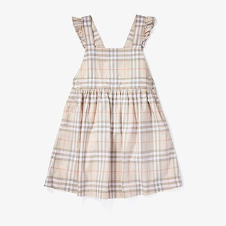 Burberry Livia Dress (Little Kids/Big Kids) (Pale Pink Apricot) Girl's Clothing