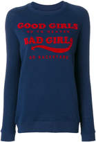 Zoe Karssen Bad Girls print sweatshirt