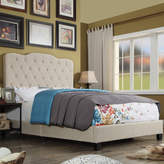Charlton Home Rockhampton Upholstered Panel Bed
