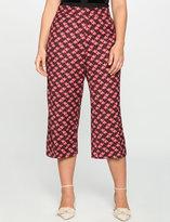 ELOQUII Geo Printed Cropped Pant