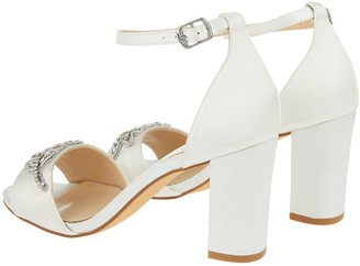 Monsoon Florence Embellished Bridal Sandals - Ivory