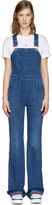 Stella McCartney Blue Denim Overalls