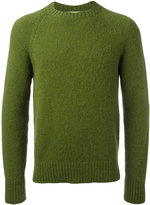 Ami Alexandre Mattiussi oversize fit raglan sleeve sweater - men - Nylon/Wool/Alpaca - S