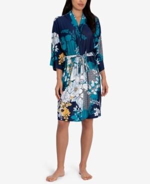 Linea Donatella Niya Printed Wrap Robe