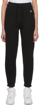 Jordan Black Fleece Lounge Pants