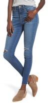 Women's Sp Black Ripped High Waist Skinny Jeans