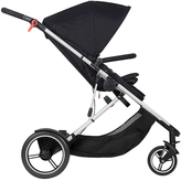 Phil & Teds Black Voyager Stroller