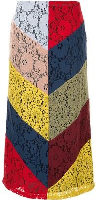 Romance Was Born Pre-Raphaelite Splice Skirt