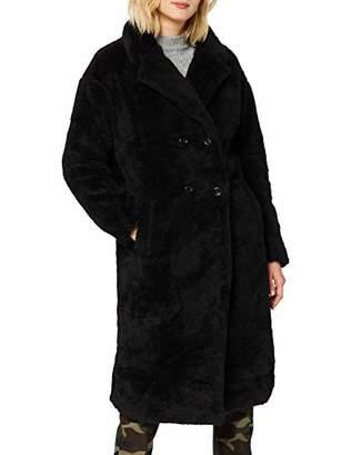 Urban Classic Women's Ladies Oversized Teddy Coat