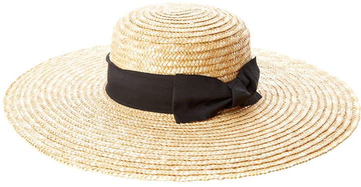 San Diego Hat Company Women's Wheat Straw Wide Brim Hat