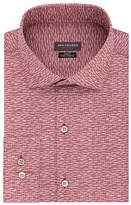 Van Heusen Slim Mens Spread Collar Long Sleeve Stretch Dress Shirt
