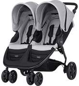 Britax B-AGILE DOUBLE Pushchair (Birth-15kg|4 Years) - Steel Grey