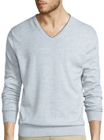 Claiborne Long-Sleeve Thermolite V-Neck Sweater