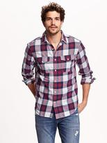 Old Navy Regular-Fit Plaid Flannel Shirt