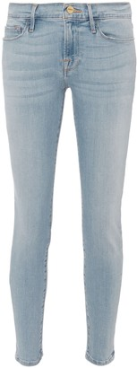 Frame Le Skinny High-Rise Jeans