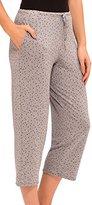 Ellen Tracy Women's Standard Cropped Pajama Pant