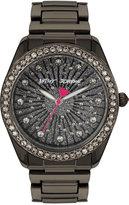 Betsey Johnson Women's Black Bracelet Watch 40mm BJ00190-80