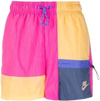 Nike Colour Blocked Running Shorts