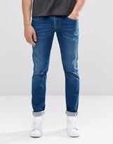 Pepe Jeans Pepe Finsbury Skinny Jeans I48 Mid Blue