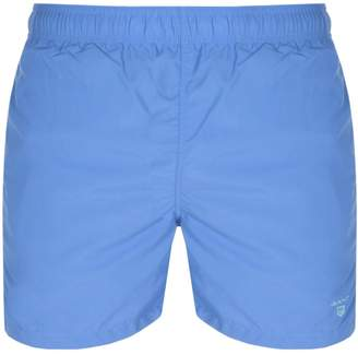 Gant Classic Fit Swim Shorts Blue