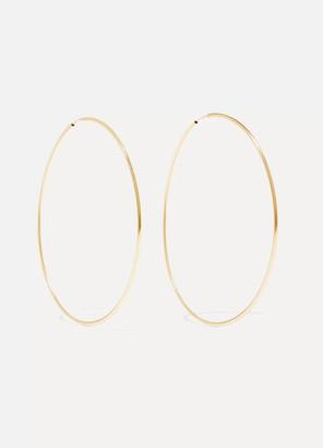 Loren Stewart - Infinity 10-karat Gold Hoop Earrings - one size