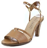 Veronique Branquinho Vb18053 Open-toe Leather Slingback Sandal.