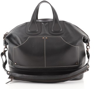 Givenchy Nigtingale Front Pocket Satchel Leather XL