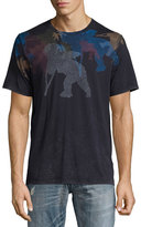 PRPS Cherub Thumbprint Graphic T-Shirt, Black