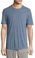 John Varvatos Striped Crewneck T-Shirt, Medium Blue