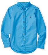 Ralph Lauren Boys 8-20 Button-Down Point Collar Shirt