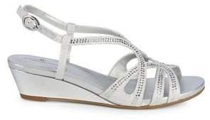Bandolino Gyala Embellished Slingback Sandals
