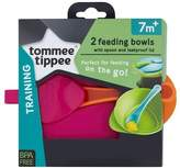 Tommee Tippee Explora Easy Scoop Feeding Bowl Lid and Spoon (Colours May Vary) by