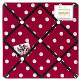 JoJo Designs Sweet Polka Dot Ladybug Photo Memo Board - Red-Black-White