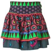 Multicolour Patchwork Skirt