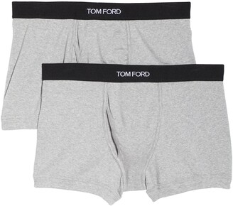 Tom Ford 2-Pack Cotton Jersey Boxer Briefs