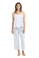 Country Road Cotton Twill Lace Cami
