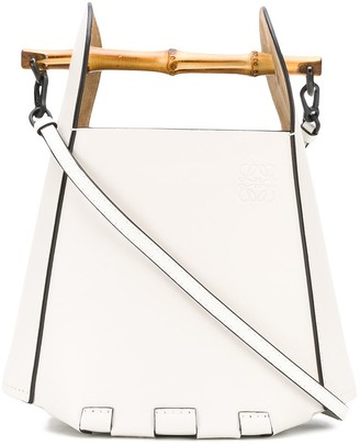 Loewe Bamboo-Handle Bucket Bag