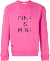 Valentino Pink is Punk sweatshirt