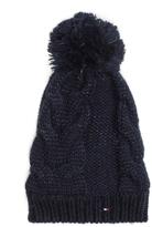Tommy Hilfiger Cableknit Pom-Pom Hat