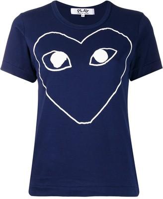 Comme des Garcons front print t-shirt