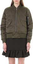 Sandro Goldmine quilted down bomber jacket