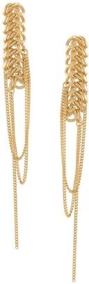 Wouters & Hendrix Sins And Senses chain-detail earrings