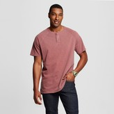 Mossimo Men's Big & Tall Short Sleeve Henley T-Shirt
