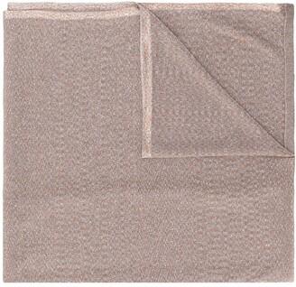 Missoni Metallic-Effect Knitted Scarf