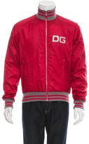 Dolce & Gabbana Metallic Bomber Jacket