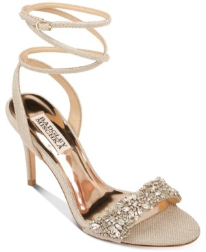 Badgley Mischka Jen Evening Sandals Women's Shoes